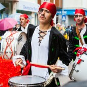 Pirate drummers
