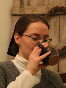 drinking coffee (1)