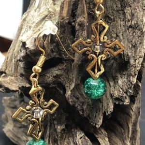 Gothic Green Cross