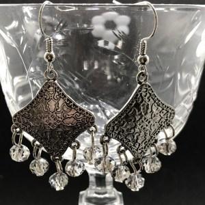 Mandala Zen Style Chandelier Earrings