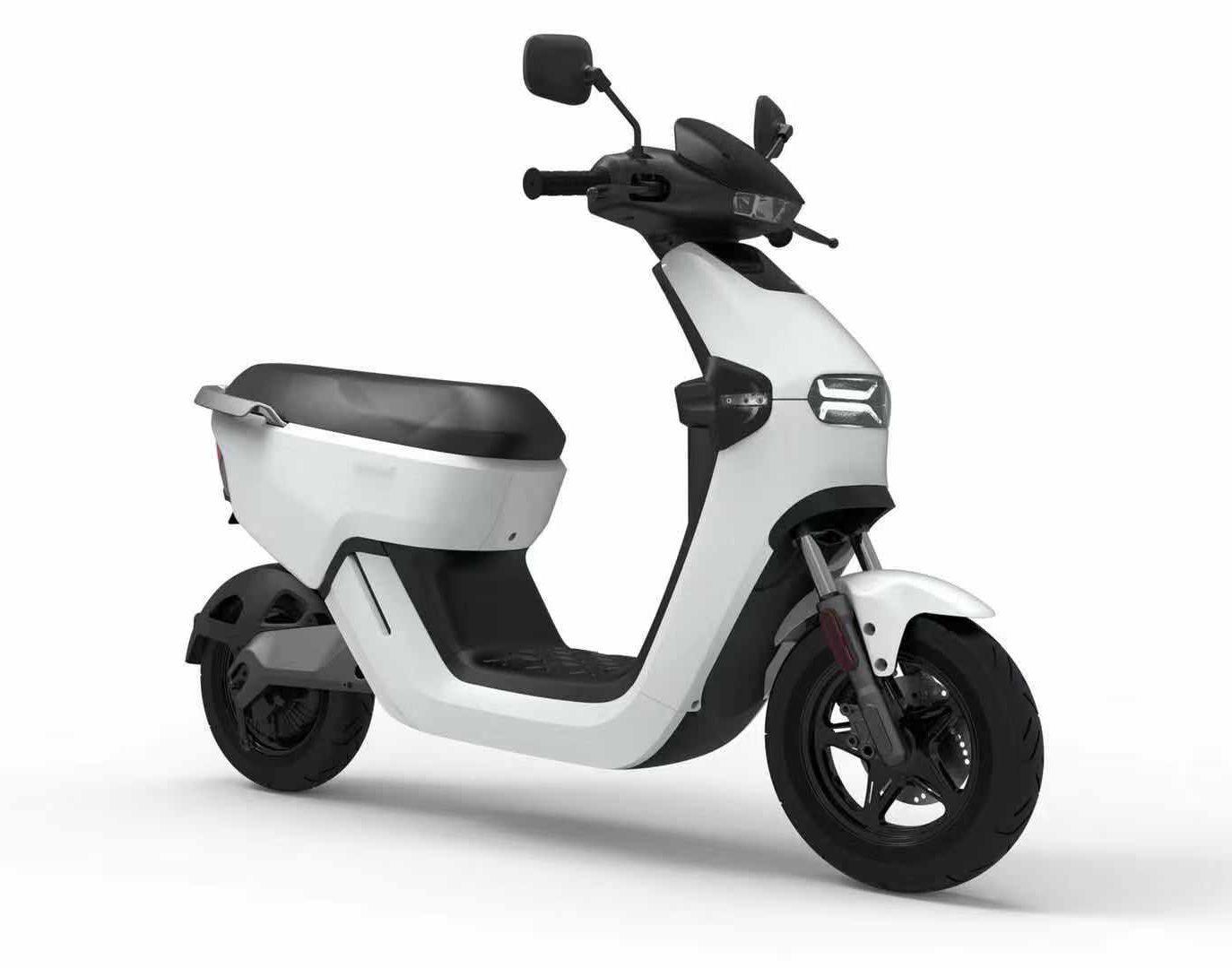 E-Mako Bianco 2 scooter elettrico