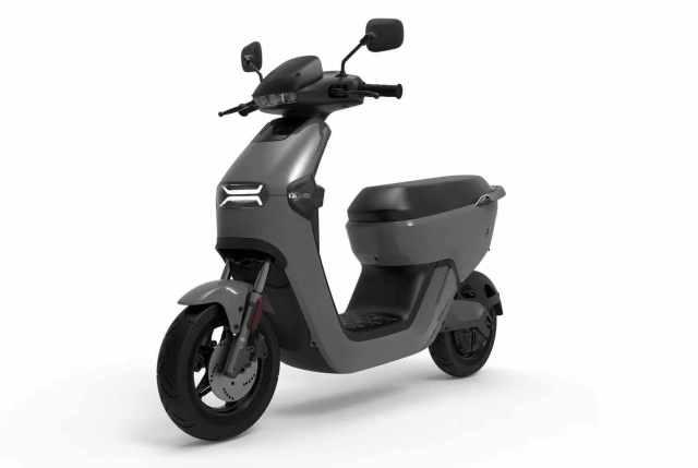 E-Mako Grigio scooter elettrico