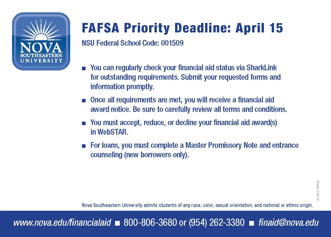 Apply For The Fafsa Today Nsu Sharkfins