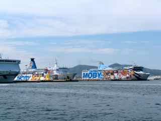 Ferries in Olbia