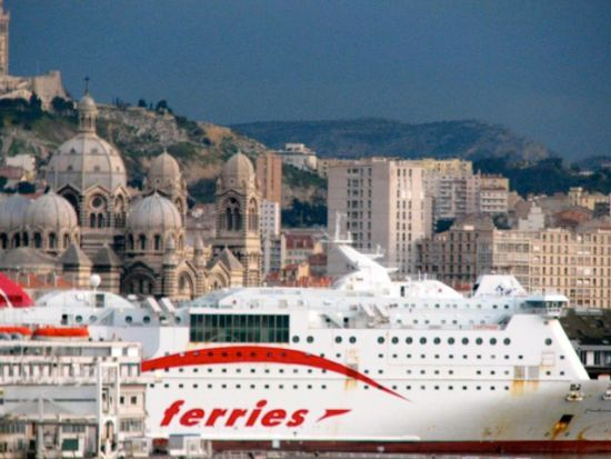 Ferry in Marseille