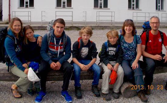 Garmisch-Partenkirchen were the hike started