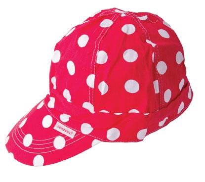 Welders Hats – Red Polka Dot in size 7 1/4″.