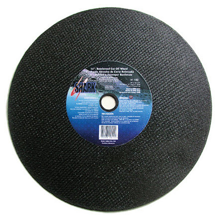 Cut-off Wheel – Aluminum Oxide – 14″ x 1/8″ x 1″ 36 Grit -5 each.