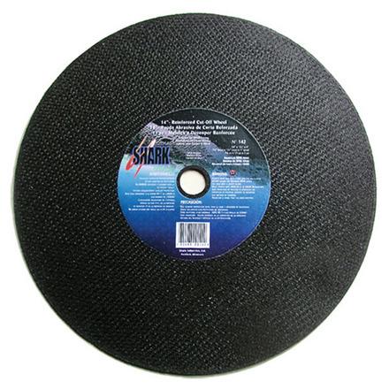Cut-off Wheel – Aluminum Oxide – 14″ x 1/8″ x 1″ 36 Grit -5 each.
