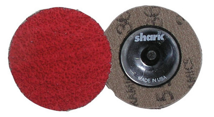 Mini Grinding Discs with Twist-to-Lock Backing – Ceramic 2″ 24 Grit. 25 pack.