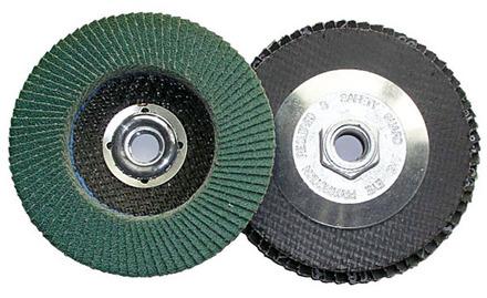Flap Disc – Type 27 Aluminum Oxide 4.5″ x 7/8″ arbor – 36 Grit .