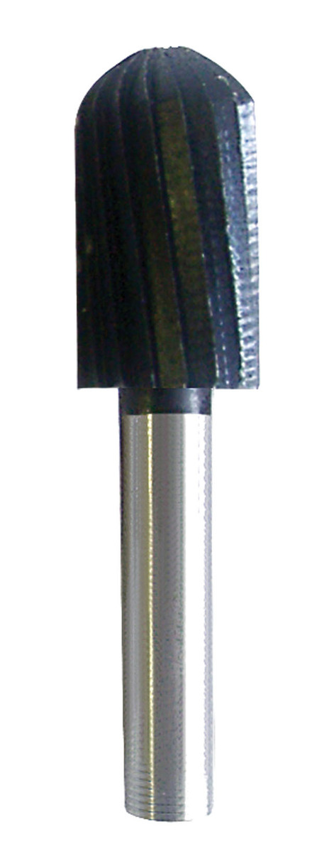 Rotary File made of High Quality Steel – Cylinder Ball Nose 1/2″ x 1″ x 1/4″ mandrel.
