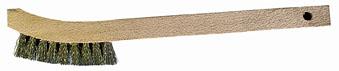 Stainless Steel Tinning Brush – 8 3/4″ Handle.
