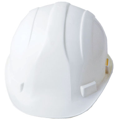 Hard Hat – White, ABS Shell
