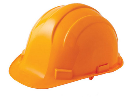 Hard Hat – Yellow ABS Shell