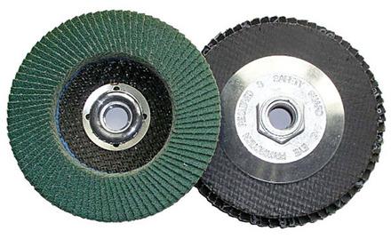 Flap Disc – Type 27 Zirconia 7″ x 5/8-11 – 60 Grit. 1 pack.
