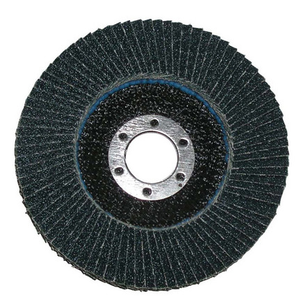 Flap Disc – Type 29 Beveled Aluminum Oxide – 4.5″x7/8″ 60 Grit. 1 pack.