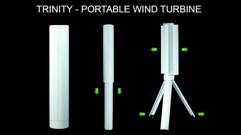 Trinity - Portable Wind Turbine (2)