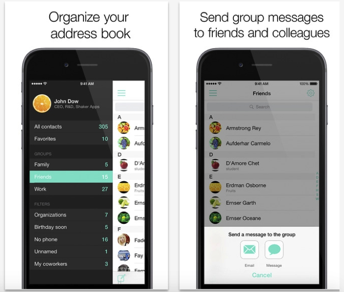 Phone Book Pro - Easy contact management