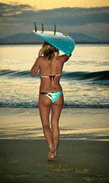 Shannon Davidson on the Beach