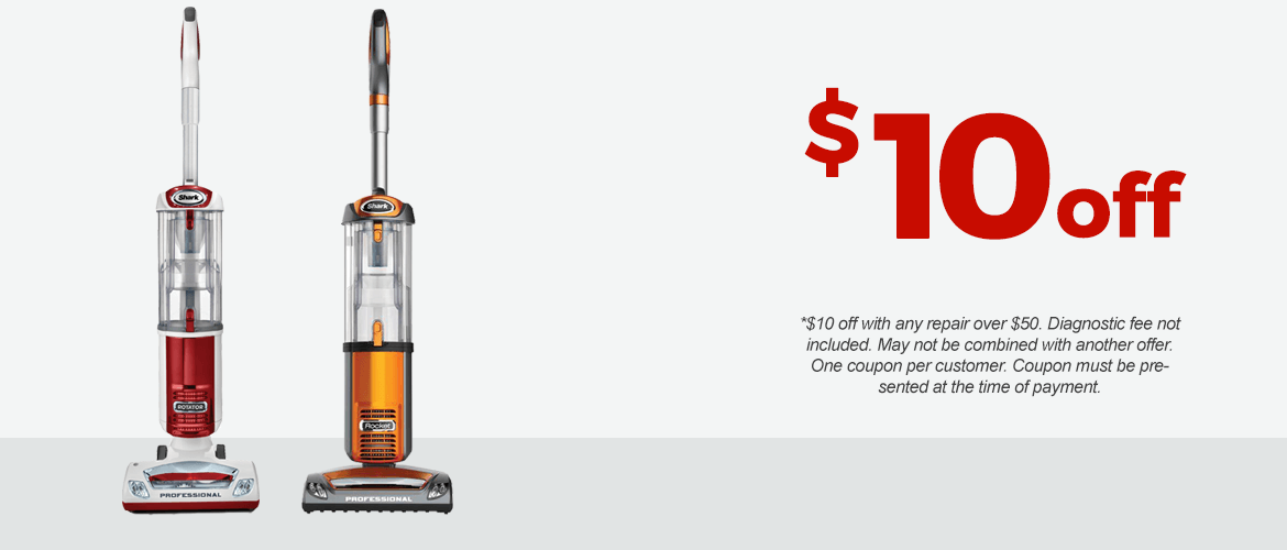 $10 Off Shark Vacuum Repair