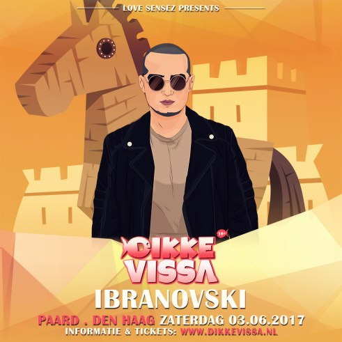 DikkeVissa Paard-Ibranovski