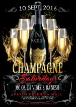 First edition of Champagne Saturdays