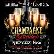 2nd Edition of Champagne Saturdays