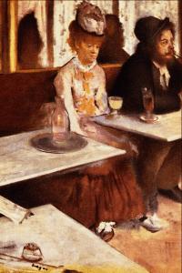 Absinthe Drinkers, Edgar Degas