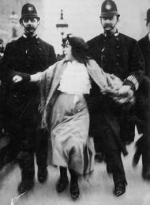 Dora Thewlis, 16-year-old suffragette.