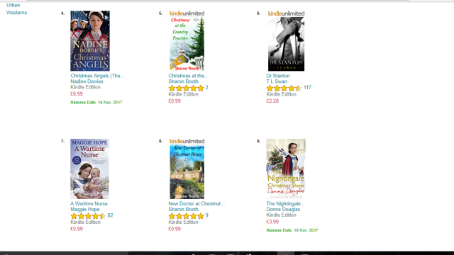 Bramblewick books in chart