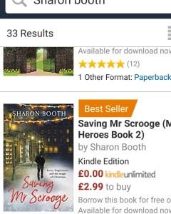 bestseller scrooge for blog book post