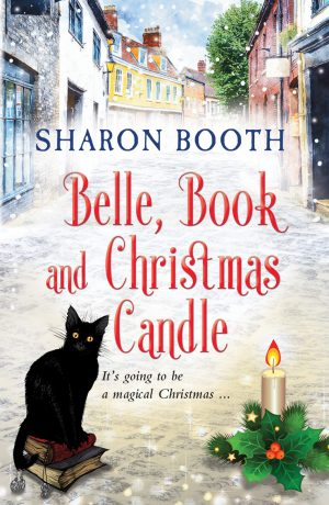 Belle, Book and Christmas Candle
