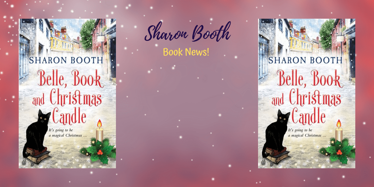 Read more about the article It's publication day for Belle, Book & Christmas Candle!
