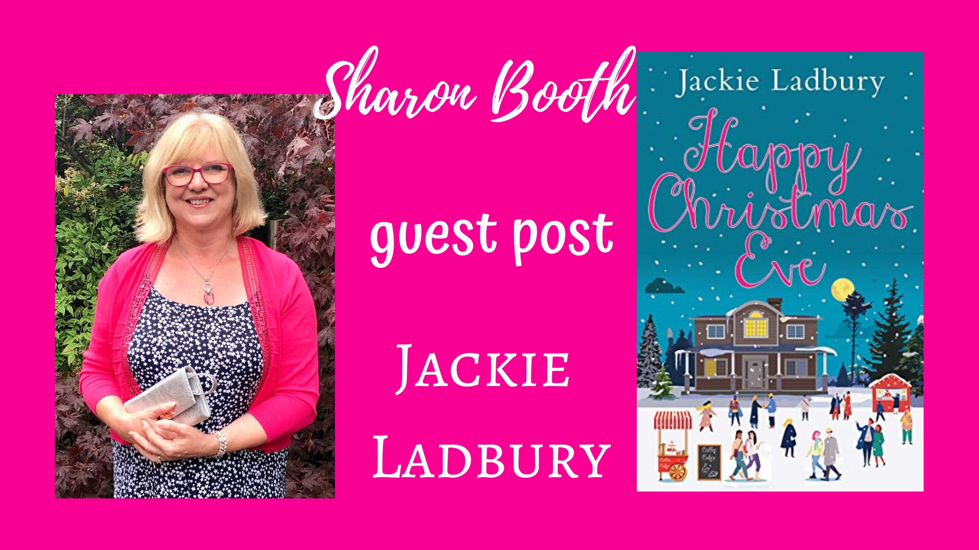 Jackie Ladbury on why she loves Christmas, and the joys of writing Christmas novels.