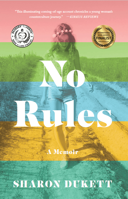 No Rules Book Cover with Award Stickers