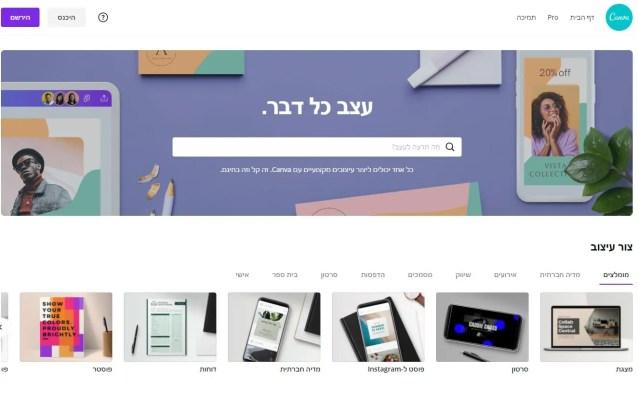 5 תוכנות לעיצוב תמונה עם משפט השראה לפוסט - קנבה