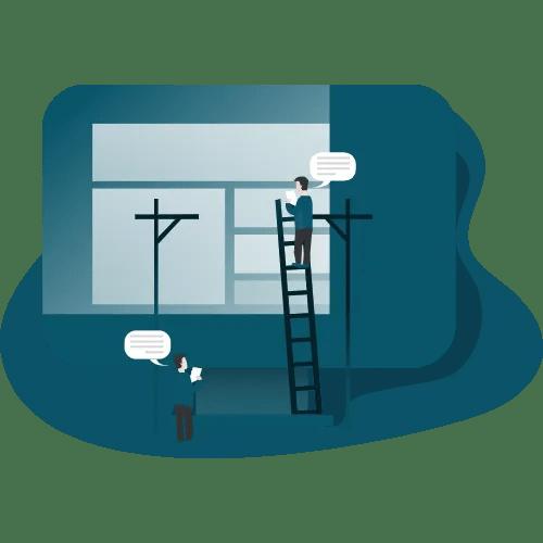 אתר מכירות אונליין - 6 עמודי תוכן
