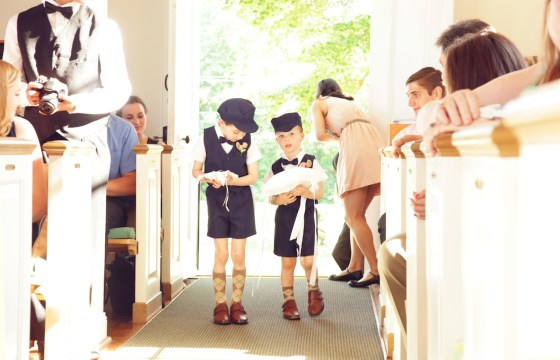 Most adorable ring bearers ever