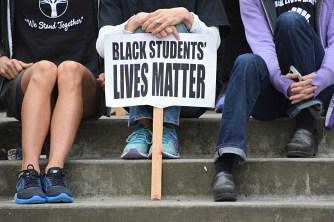 Black Students Lives Matter at School