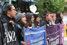 May Day Womxn and Families of Color Contingent