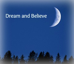 dream withcrescentmoon