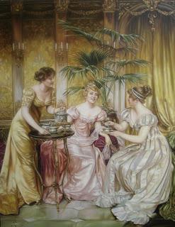 Tea Drinking in the Regency & a History