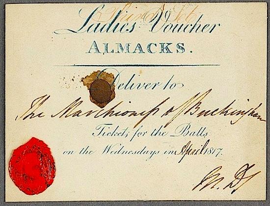 Almack's Assembly