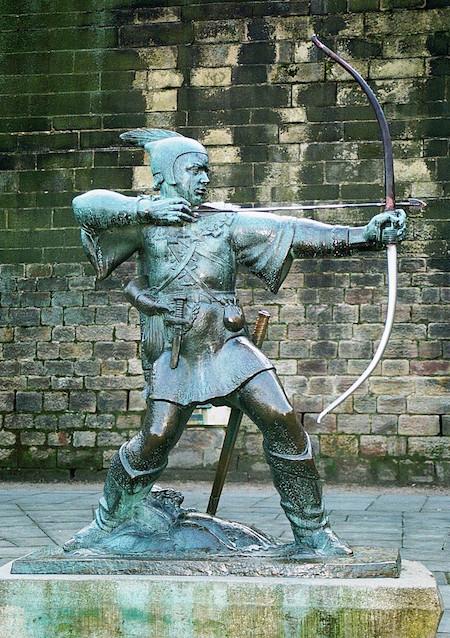 RobinHood statue