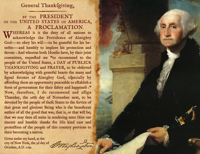 Thanksgiving Washington