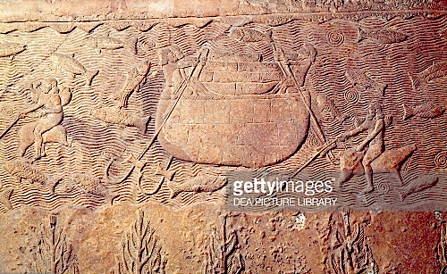 ancient Ninevah relief