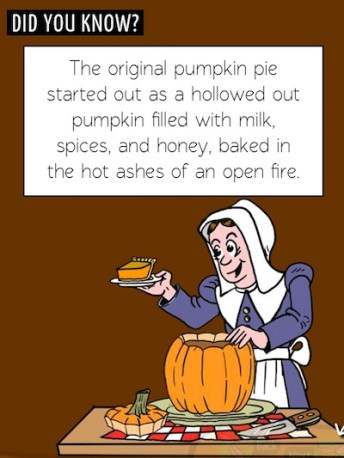 pumpkin pie origin