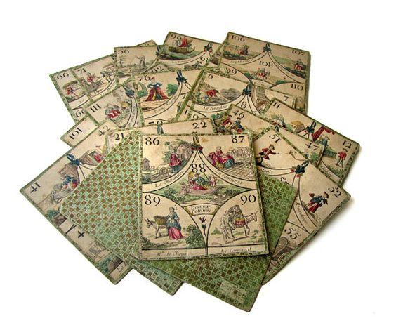 cavagnole cards