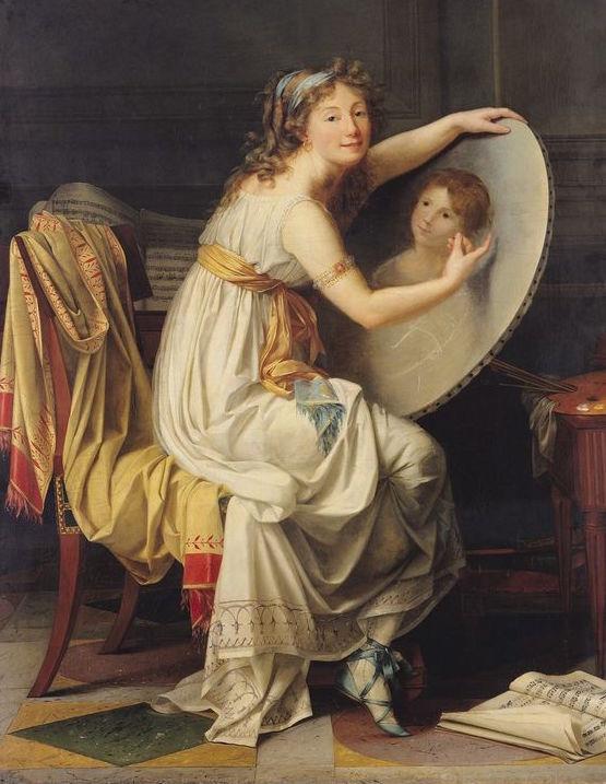 Artist Rose-Adelaide Ducreux